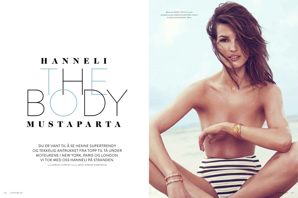 Hanneli The Body Mustaparta