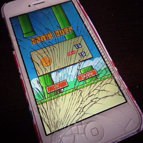 iphone with flappy bird flappy bird gifs reactiongifs 15544